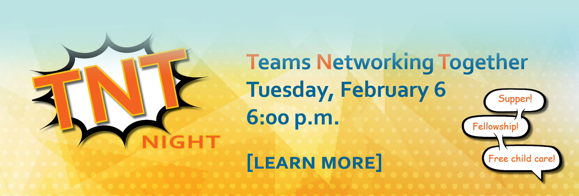 Teams Networking Together - Tuesday, February 6 - Starts at 6pm