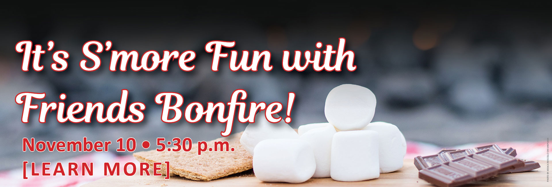 Second Annual S'more fun with a Bonfire - November 10 at the Calhoun SDA Church 5:30 P.M