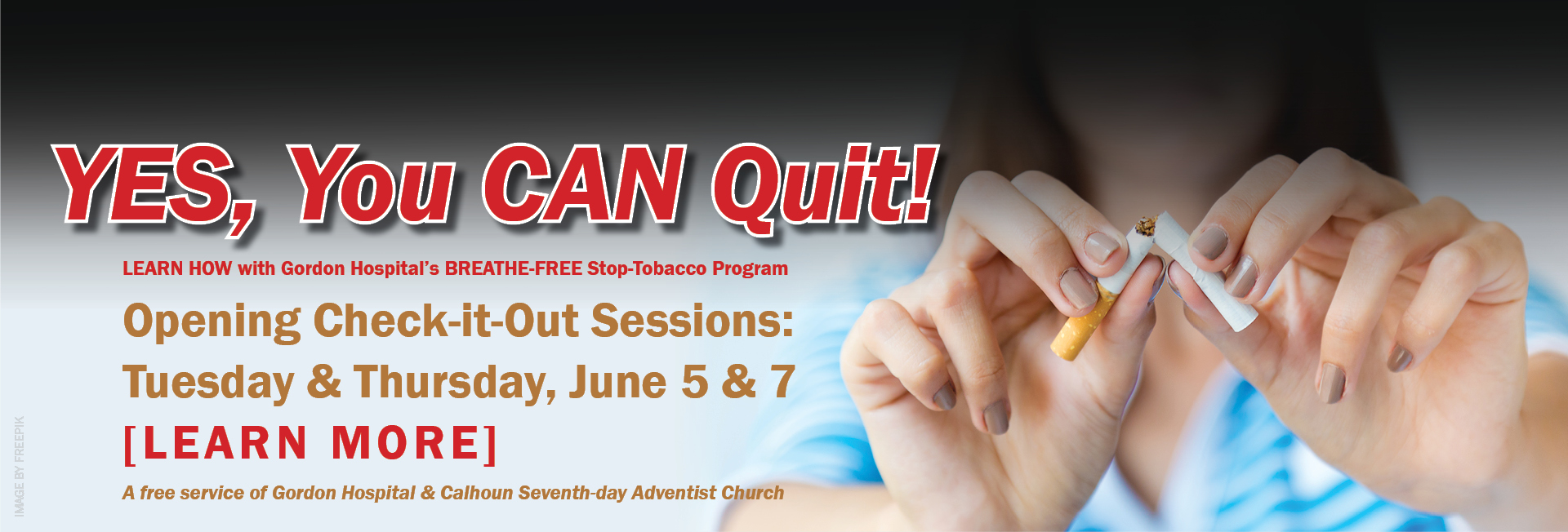 YES, You CAN Quit Smoking!